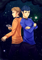 Star Trek Into Darkness by GhostlyBuu