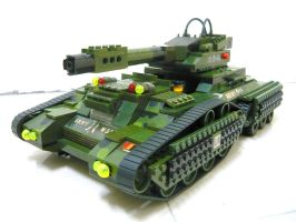 "Lego Transform Tank ""Fake"" 2.1 by SOS101"
