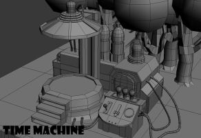 Chrono Trigger - Leene Square Time Machine WIP 2 by FrZnChAoS