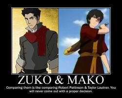 Zuko and Mako by irmesia