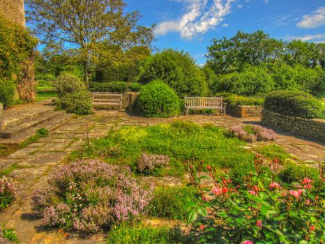 Great Charfield House And Gardens 7 Stock by supersnappz16