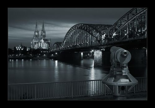 Cologne at Night I by Dr007