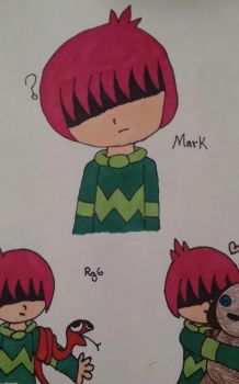 Mark Doodles by RaymanGirl6