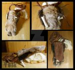 Bobcat Paw Medicine Bag - SOLD by Shamans-Yoik