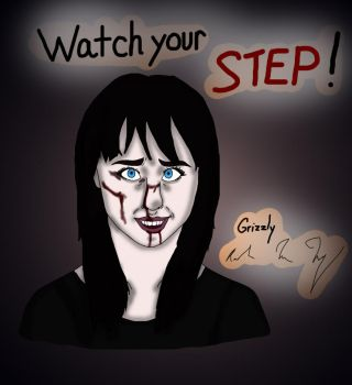 Watch Your Step! by 75-Canis-dirus-75