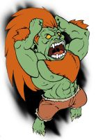 Blanka by TheKidIsGreen