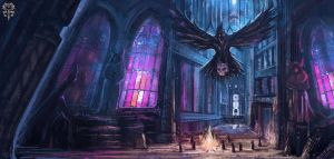 Dark Cathedral by Banzz