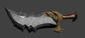 Blade of Chaos by demondeathx