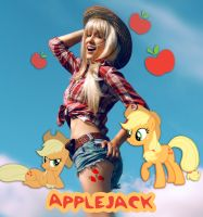 Applejack cosplay by atly-san