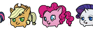 Mini Ponies by benderadopts