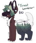 Adopt: Forest Wanderer CLOSED by MonsterMeds