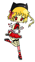 Pixel Art: Flandre Scarlet by cotton-puppy