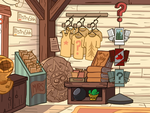 Gravity Falls- Mystery Shack inside by Cacti