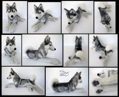 Siberian Husky Silver by SarityCreations