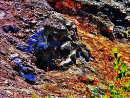 Coal Vents in Centralia PA 2010 by ShilohsArts