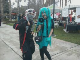 Me and Miku by Nara-Ousansamaki