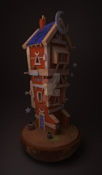 Moon House 3D by Blackbell93