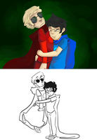 upd8 art some john and dave by goshhhh