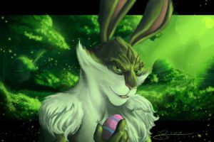 Bunnymund by J-Spence