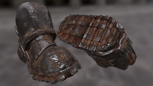 Brotherhood of Steel Power Armor Boots by Magius1980