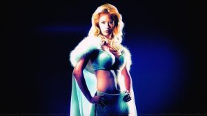 January Jones Emma Frost by Dave-Daring