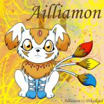 My Digimon 'Ailliamon' by pokediged