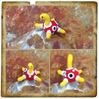 Shuckle plushie by Technoloaf