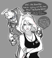 I'll Meet You At The Bar. (revised) by CrazySuperior