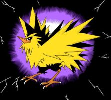 Zapdos by hey-look-a-hippo