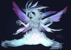 DkS: Seath the Scaleless by enoxico
