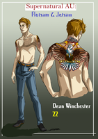 Dean's F and J profile by Mlle-Tenebrist
