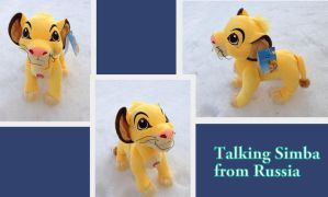 Talking Simba from Russia by Laurel-Lion