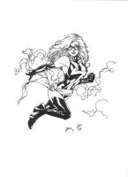 Ms. Marvel by Rico, inks by myself 001 by kendiwan1987