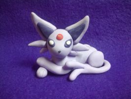 Espeon Sculpture by Sara121089