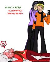 Have a Very Naruhina Christmas by shock777