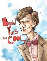 bow ties are cool by the-frizz