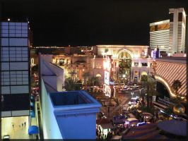 View from Room in Vegas by Timitu
