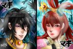JuKou MAGI Covers 2015  by Gan by akaxgan