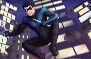 Nightwing by Infee