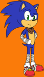 Sonic Boom by MorganTheCat2468