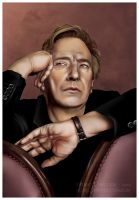 Alan Rickman by trojan-rabbit