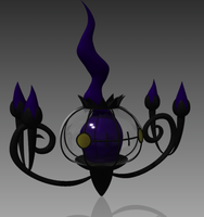 Chandelure by JasonXL