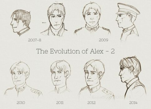 Alex evolution 2 by KanaScott