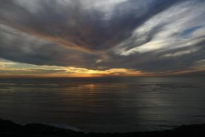 California Dreaming: Pacific Sunset by Shadow848327