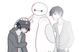 Tadashi is still here by BottleWonderland