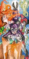 Gotham City Sirens by theintrovert