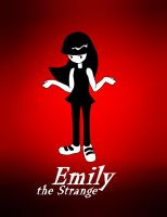 Emily the Strange by moe-kawaii-sunshine