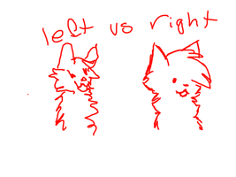 left hand vs right hand by FoodStamps1