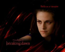 Bella Cullen as a vampire in BD2 - KRISTEN STEWART by Maysa2010