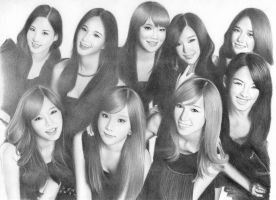 Girl generation by asas365